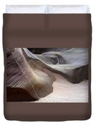 Nature's Artistry In Stone Duvet Cover by Bob Christopher