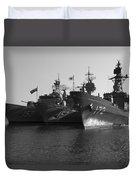Naval Joint Ops V1 Duvet Cover by Douglas Barnard