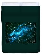 Nebulae In Cygnus Duvet Cover by Science Source