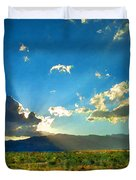 New Mexico Desert Duvet Cover by Betty LaRue