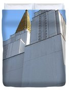 Oakland California Temple . The Church Of Jesus Christ Of Latter-day Saints . 7d11336 Duvet Cover by Wingsdomain Art and Photography