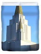 Oakland California Temple . The Church of Jesus Christ of Latter-Day Saints . 7D11377 Duvet Cover by Wingsdomain Art and Photography