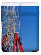 OC WINTER FERRIS WHEEL Duvet Cover by Skip Willits