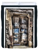 Old Door Duvet Cover by Mauro Celotti