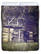 Old Shed Duvet Cover by Joana Kruse