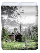 Old Shed Duvet Cover by Lori Frostad
