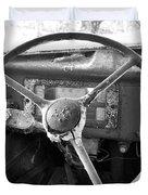 Old Truck Duvet Cover by Todd Hostetter