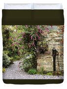 Old Water Pump, Ram House Garden, Co Duvet Cover by The Irish Image Collection