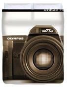 Olympus Om77af Duvet Cover by Mike McGlothlen
