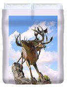 On Top Of The World Duvet Cover by Kristin Elmquist