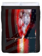 One Big Bang Duvet Cover by Cheryl Young