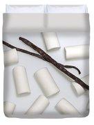 Organic Marshmallows With Vanilla Duvet Cover by Joana Kruse