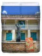 Oscar E. Henry Customs House Duvet Cover by Shelley Neff