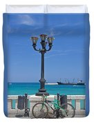 Otranto - Apulia Duvet Cover by Joana Kruse