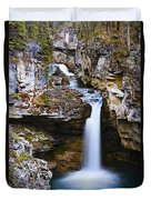 Overview Of Icefields Parkway, Beauty Duvet Cover by Yves Marcoux