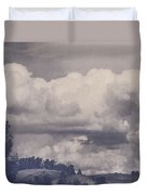 Overwhelmed Duvet Cover by Laurie Search