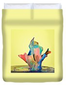 Paint Art Duvet Cover by Susan Candelario