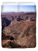 Panormaic View of Canyonland Duvet Cover by Robert Bales