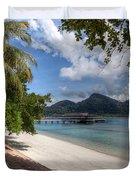 Paradise Island Duvet Cover by Adrian Evans