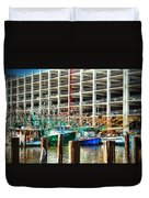 Parked Duvet Cover by Barry Jones