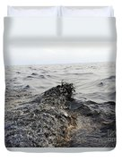 Part Of An Oil Slick In The Gulf Duvet Cover by Stocktrek Images