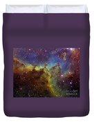 Part Of The Ic1805 Heart Nebula Duvet Cover by Filipe Alves