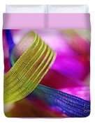 Party Ribbons Duvet Cover by Judi Bagwell