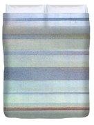 Pastel Stripes Duvet Cover by Hakon Soreide