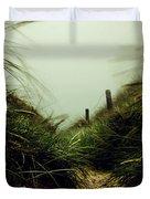 Path Through The Dunes Duvet Cover by Hannes Cmarits