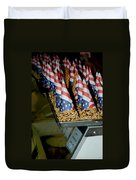 Patriotic Treats Virginia City Nevada Duvet Cover by LeeAnn McLaneGoetz McLaneGoetzStudioLLCcom