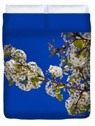 Pear Spring Duvet Cover by Chad Dutson