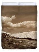 Pemaquid Point Lighthouse Duvet Cover by Skip Willits