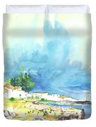 Peniche In Portugal 10 Duvet Cover by Miki De Goodaboom