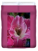 Perfectly Pink Duvet Cover by Susan Herber