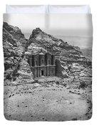 Petra, Jordan Duvet Cover by Photo Researchers