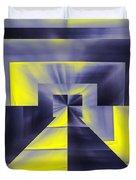 Pharaohs Dawning Duvet Cover by Tim Allen
