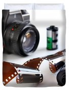 Photography Gear Duvet Cover by Carlos Caetano