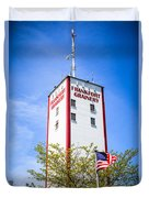 Picture Of Frankfort Grainery In Frankfort Illinois Duvet Cover by Paul Velgos