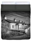 Pilot Cottages Duvet Cover by Adrian Evans