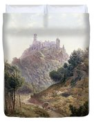 Pina Cintra Summer Home Of The King Of Portugal Duvet Cover by George Leonard Lewis