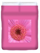 Pink A Boo Duvet Cover by Kathy Yates