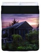Pink Dawn Duvet Cover by Debra and Dave Vanderlaan
