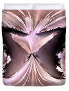 Pink Ice Duvet Cover by Maria Urso