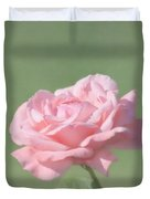 Pink Rose Duvet Cover by Kim Hojnacki