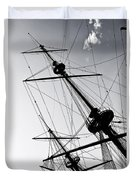 Pirate Ship Duvet Cover by Joana Kruse