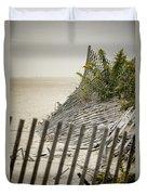 Point Pleasant Beach Duvet Cover by Heather Applegate