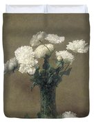Poppies Duvet Cover by Ignace Henri Jean Fantin-Latour
