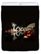 Porcelain Dragon Duvet Cover by Semmick Photo