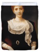 Portrait Of A Lady Duvet Cover by Charles Edward Halle