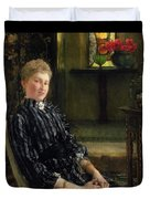 Portrait Of Mrs Ralph Sneyd Duvet Cover by Sir Lawrence Alma-Tadema